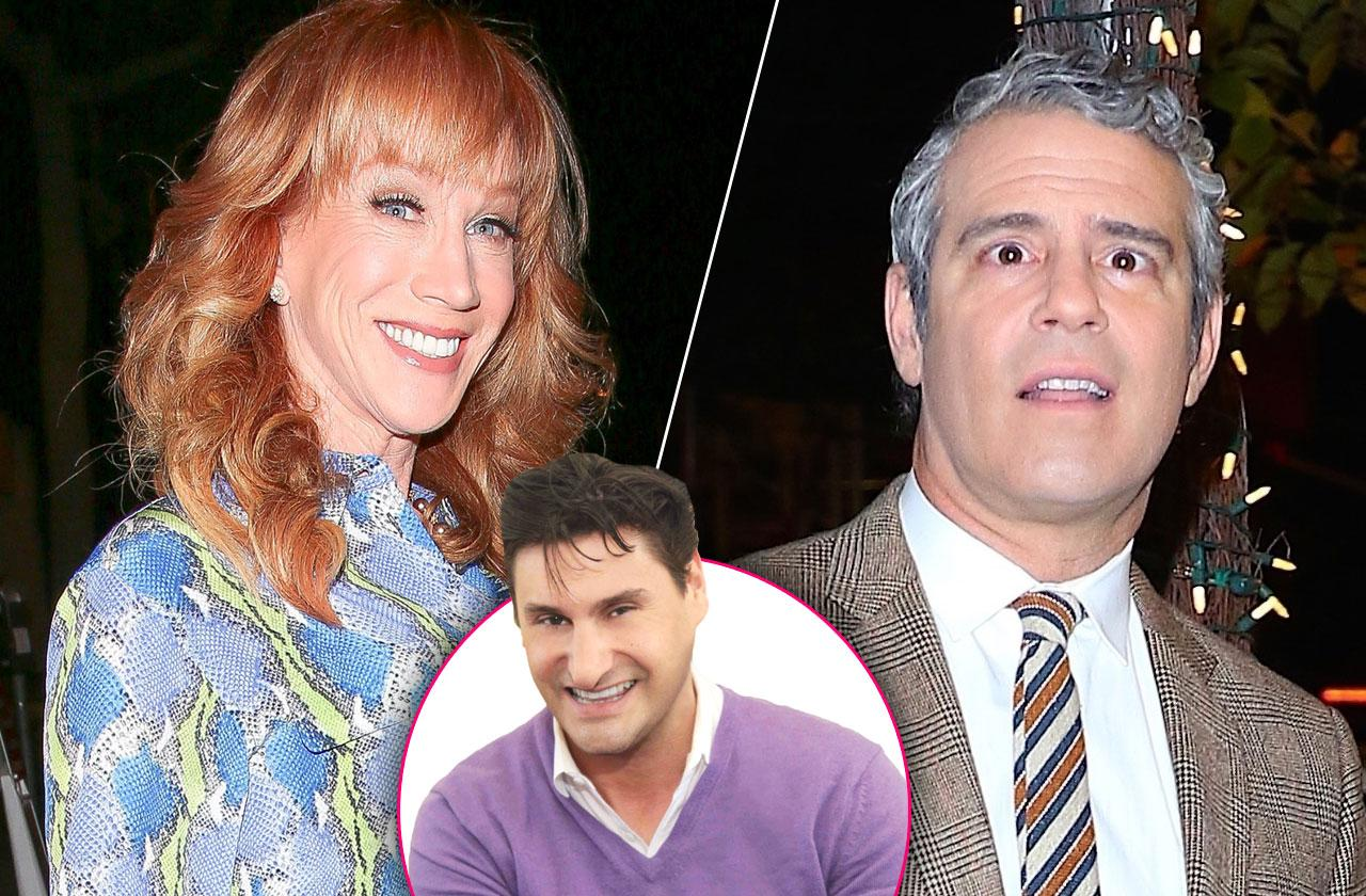 //Kathy Griffin Target Andy Cohen Comedy Show pp