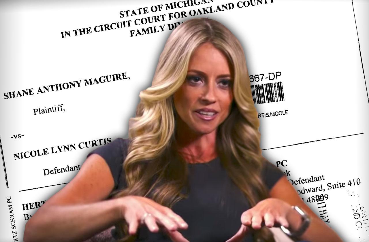nicole curtis custody battle shane maguire bad mom dramatic rehab addict