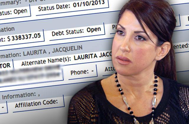 jacqueline laurita tax lien debt bankruptcy case rhonj