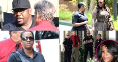 //bobbi kristina final hours dying family dad bobby brown fights cops pp