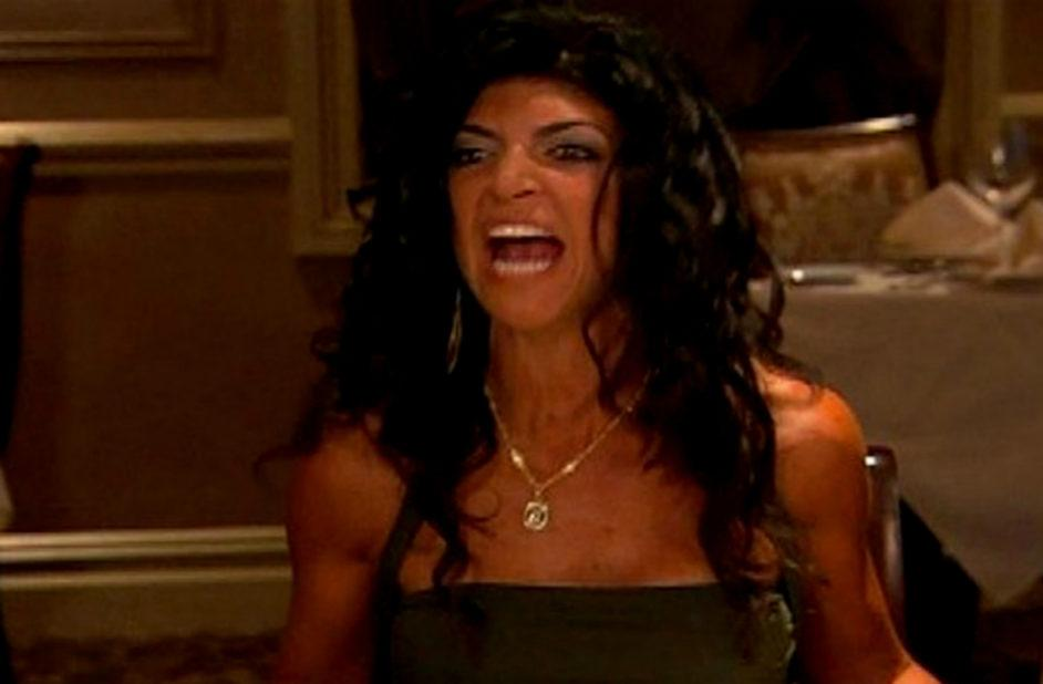One of the first top reality show fights on The Real Housewives of New Jersey was when Teresa Giudice flipped the table.