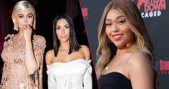 Jordyn Woods '47 Meters Down: Uncaged' film premiere, Arrivals, Regency Village Theatre;Kylie Jenner and Kim Kardashian The Costume Institute Benefit celebrating the opening of Rei Kawakubo/Comme des Garcons