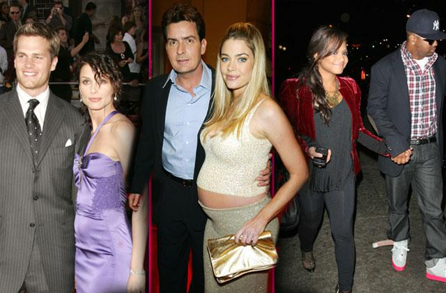 celebrities dumped while pregnant