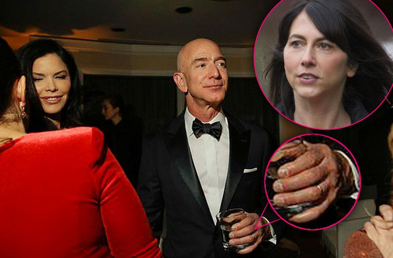 Jeff bezos mistress lauren Sanchez photographed golden globes cheating scandal