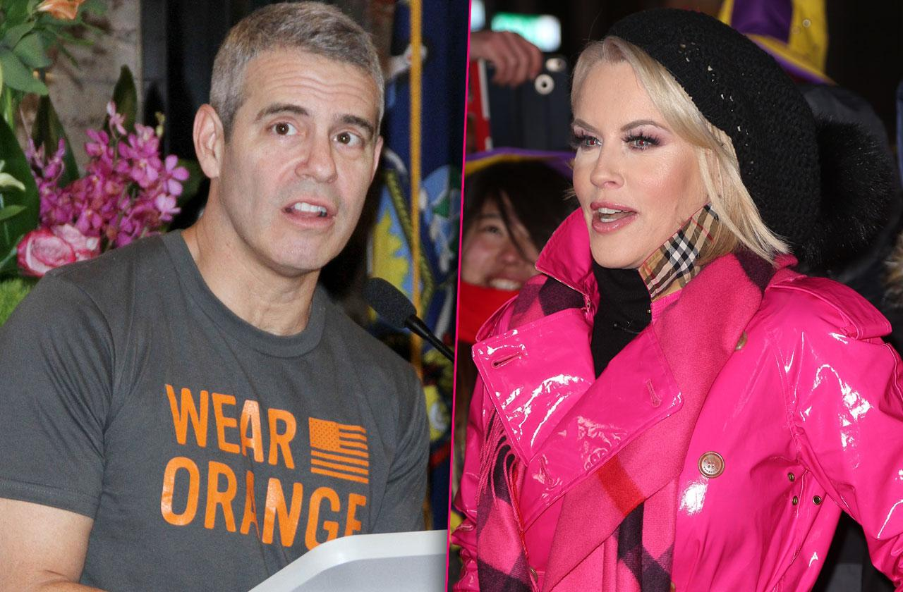 Andy Cohen Jenny McCarthy Fighting Celebrity Guests