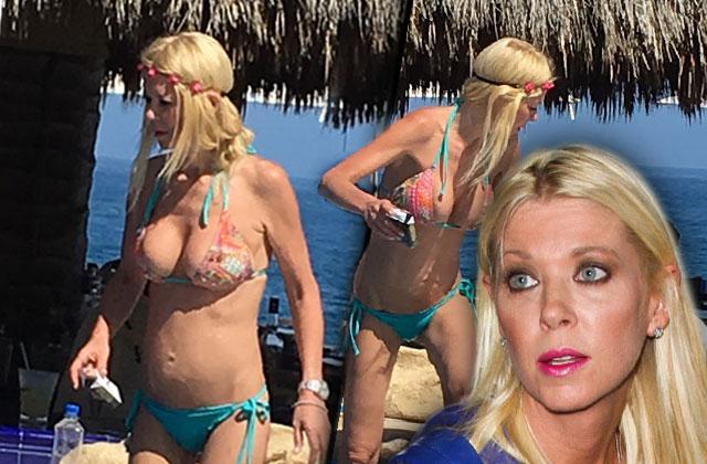 tara reid marriage boot camp scary skinny bikini body