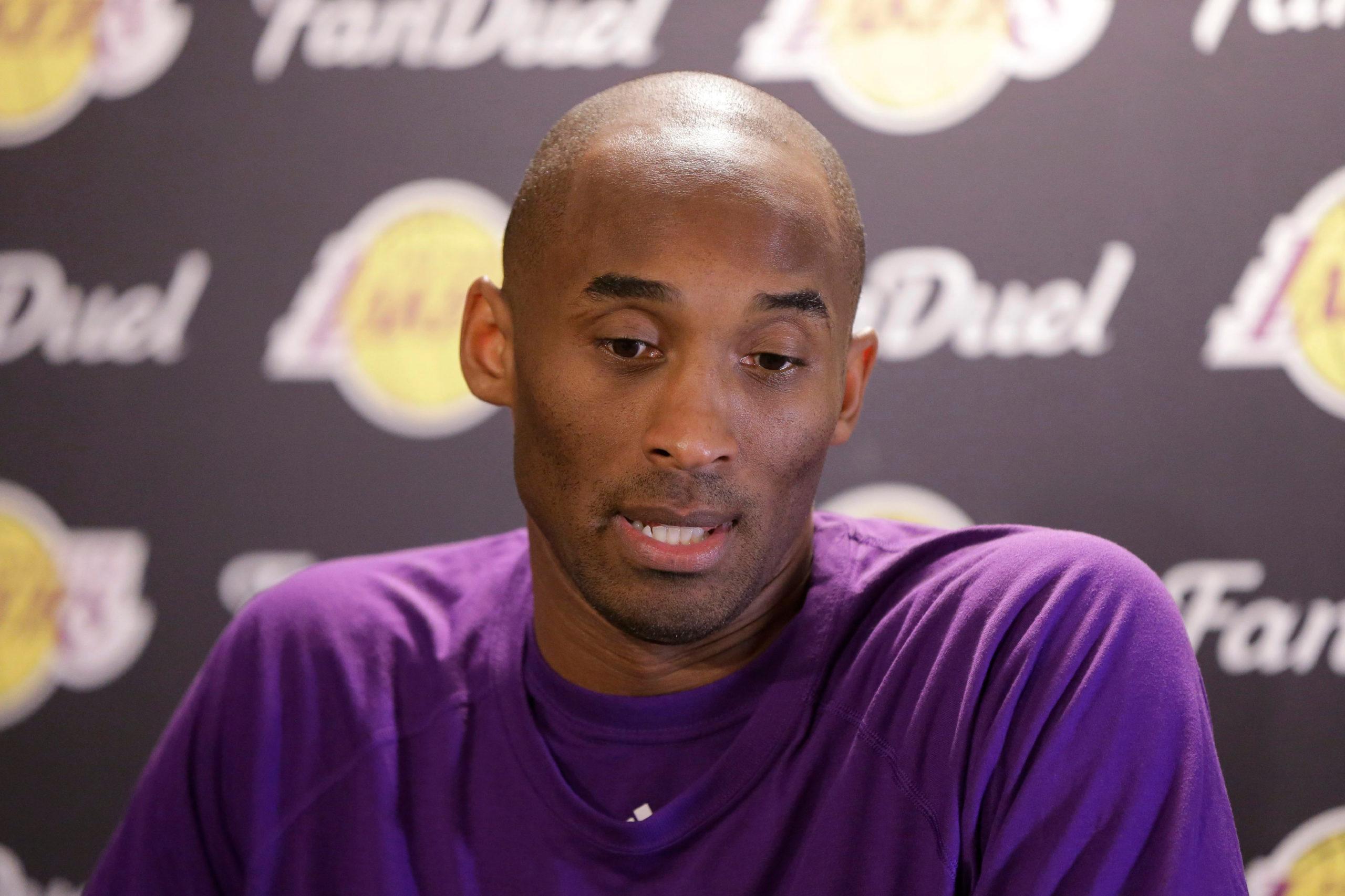 Kobe Bryant Dead In Helicopter Crash