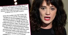 Rose McGowan Partner Leaked Asia Argento Texts