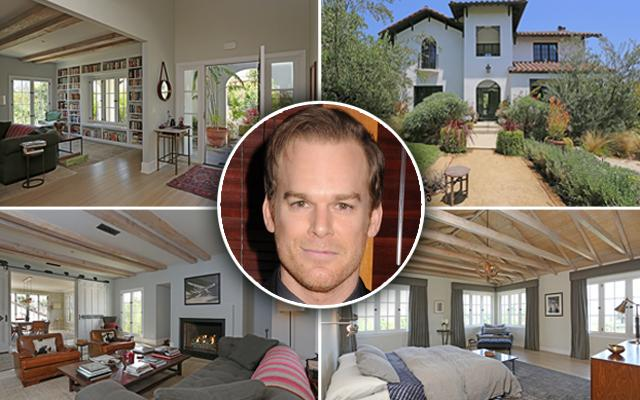 Michael C Hall Los Feliz home