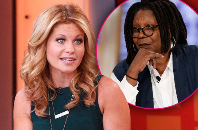 //candace cameron bure whoopi goldberg feud the view pp