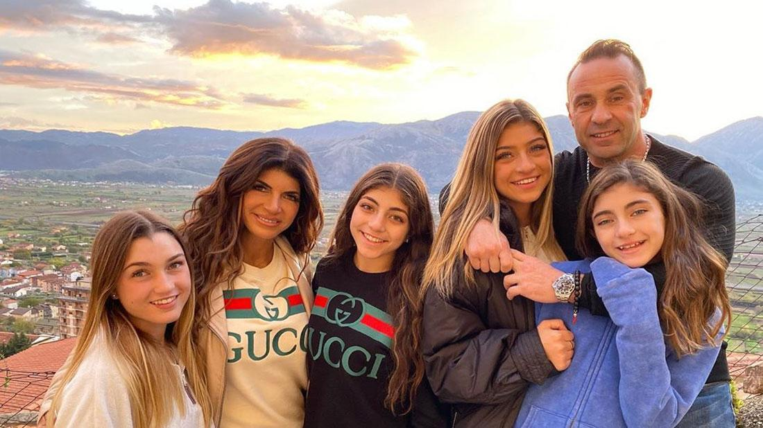 Joe & Teresa Giudice Fight On Her Reunion Trip To Italy