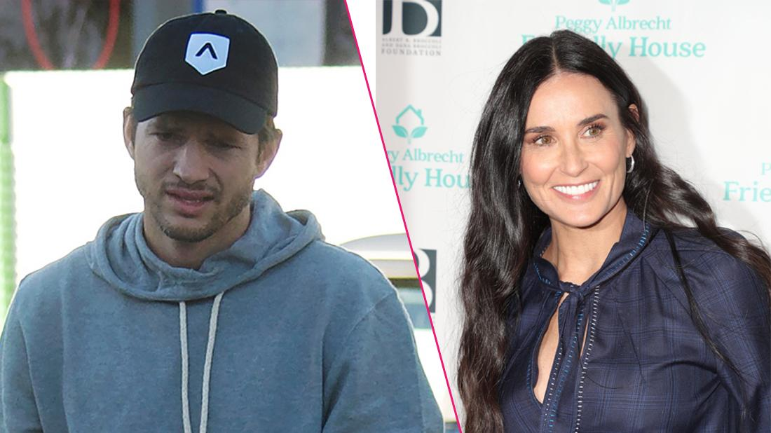 Demi Moore & Ashton Kutcher Go On WIth Separate Lives