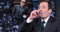 Jimmy Fallon Drinking