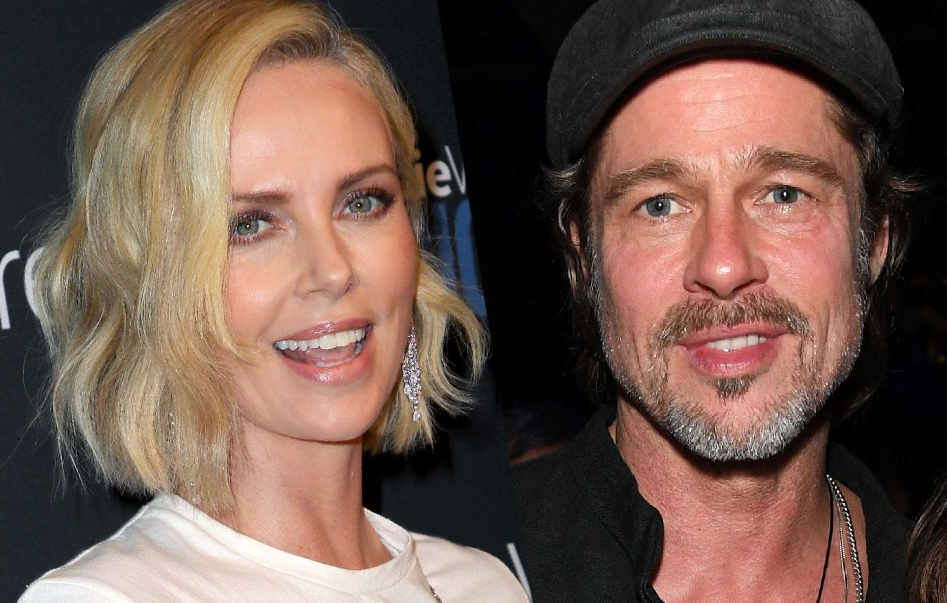 //brad pitt charlize theron friends with benefits ex bodyguard says PP