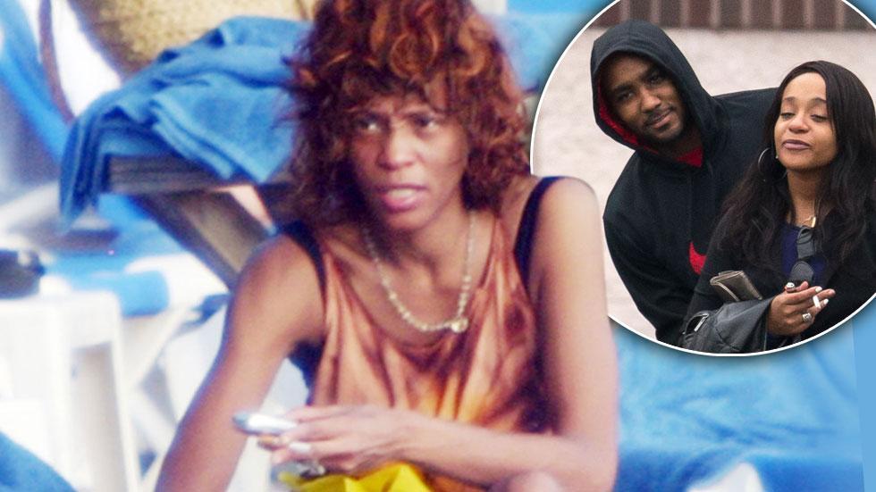 Bobbi Kristina Brown Whitney Houston Nick Gordon Drugs