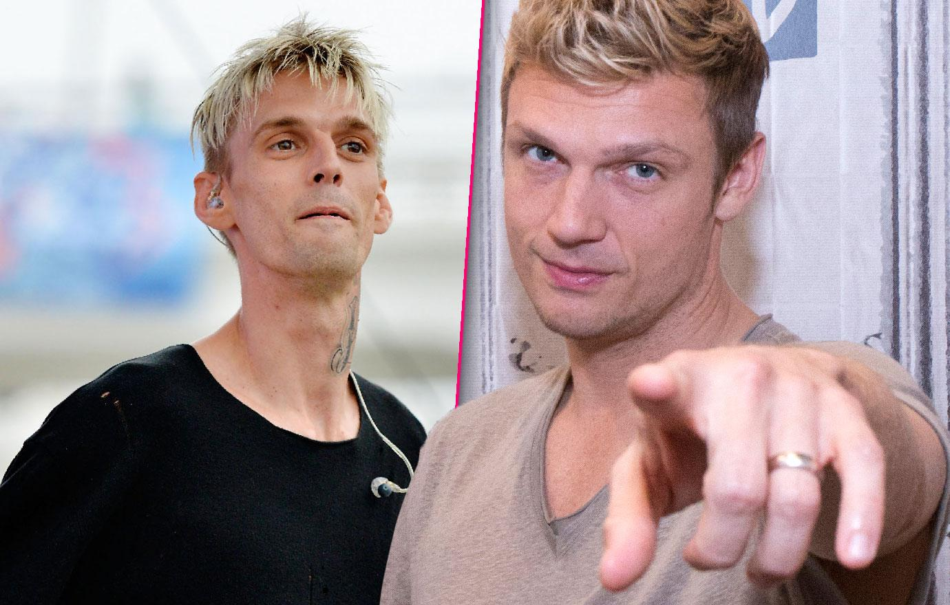 Nick Carter Threatens To Sue Rehabbing Brother Aaron Over Lies