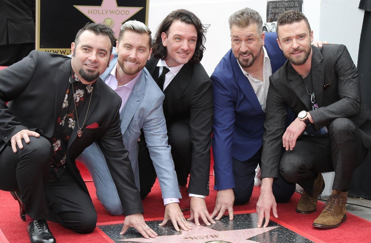NSYNC Star Hollywood Walk Of Fame