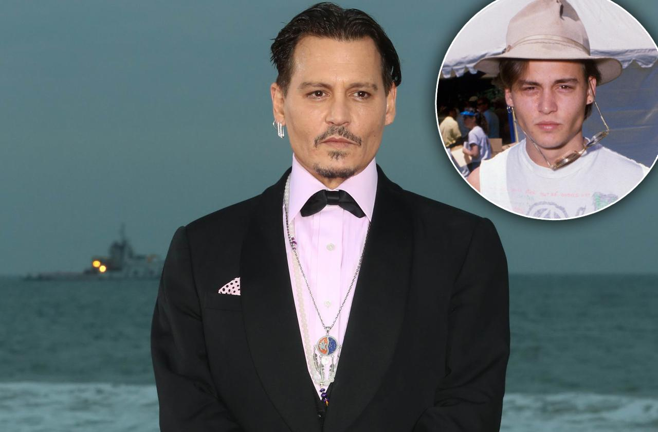 Johnny Depp Broke Delinquent Streak Before Fame