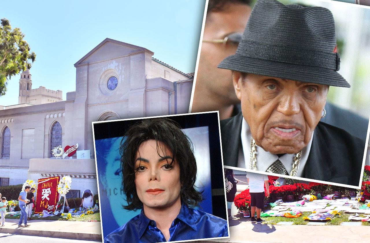 //joe jackson buried near michael jackson grave site