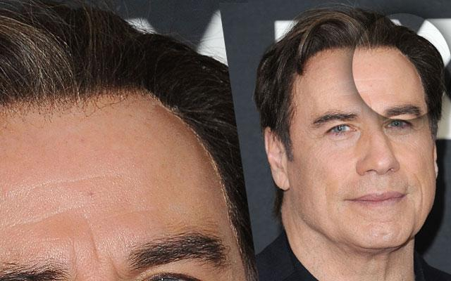 John Travolta Hair Wig Glue