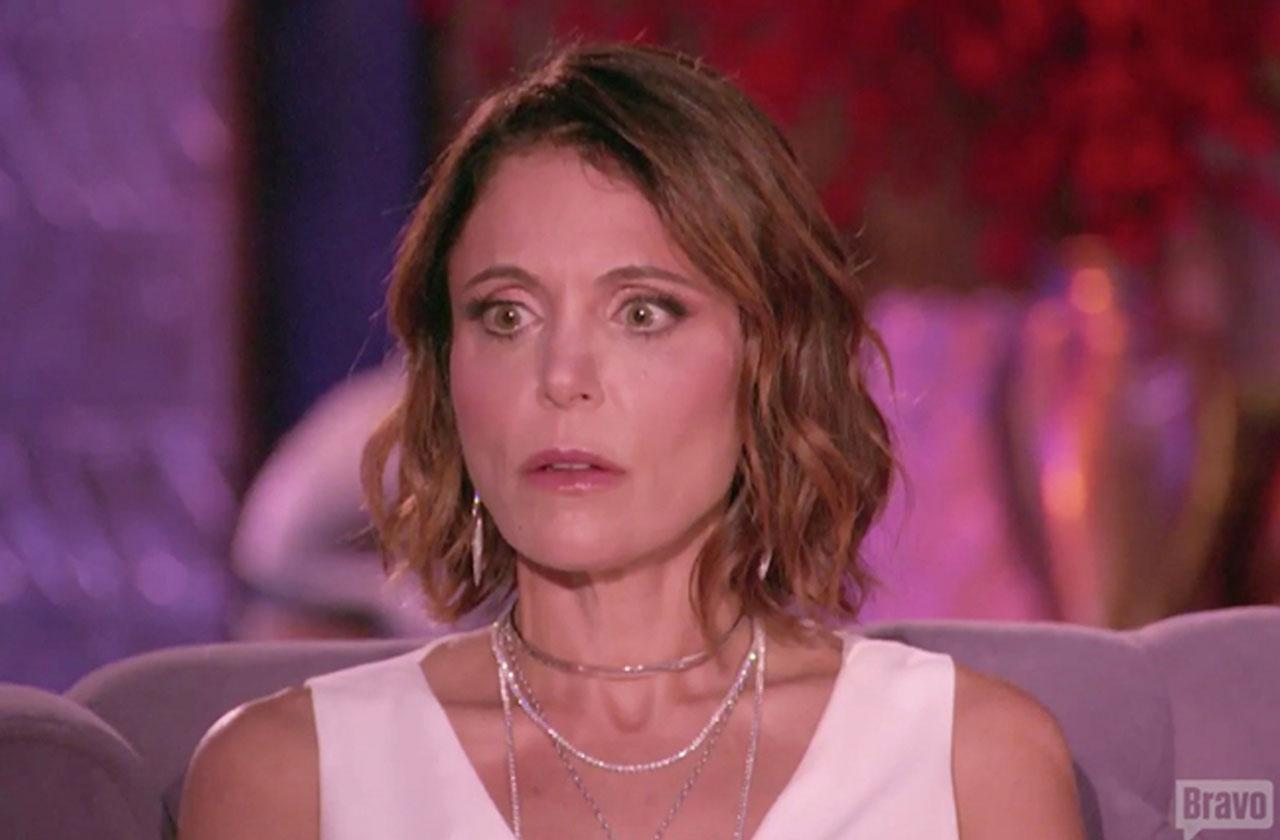 //bethenny frankels days on rhony are numbered pp