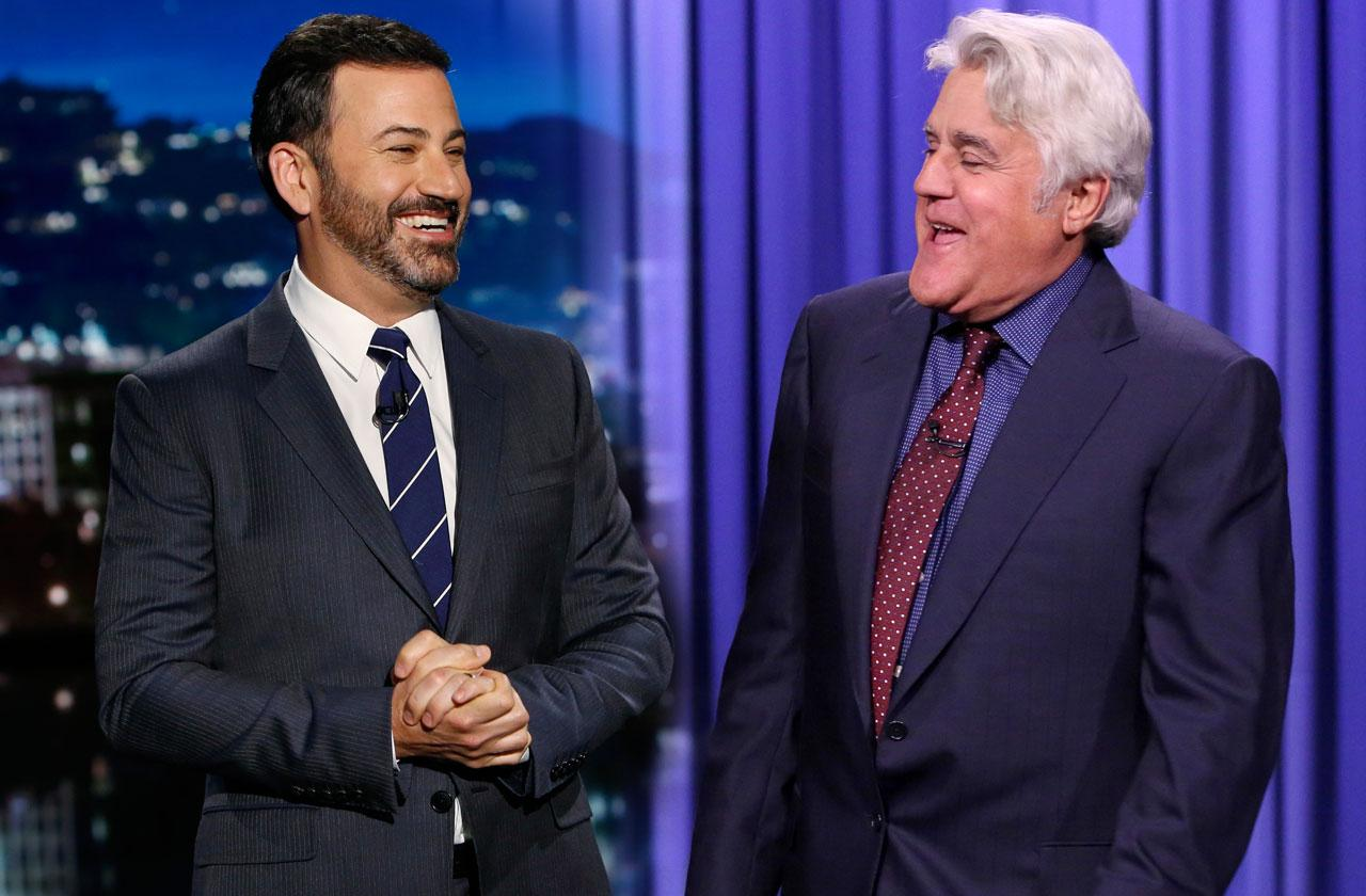 Jimmy Kimmel Jay Leno Made Peace Feud