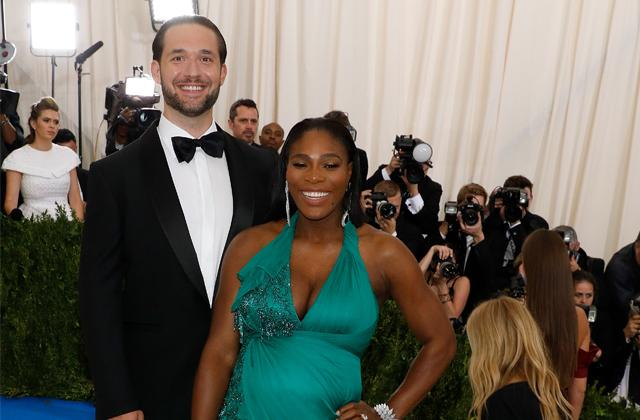 Pregnant Serena Williams Fiance Alexis Ohanian Mr Mom Leave