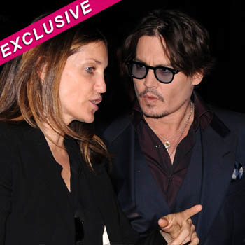 //johnny depp publicist date