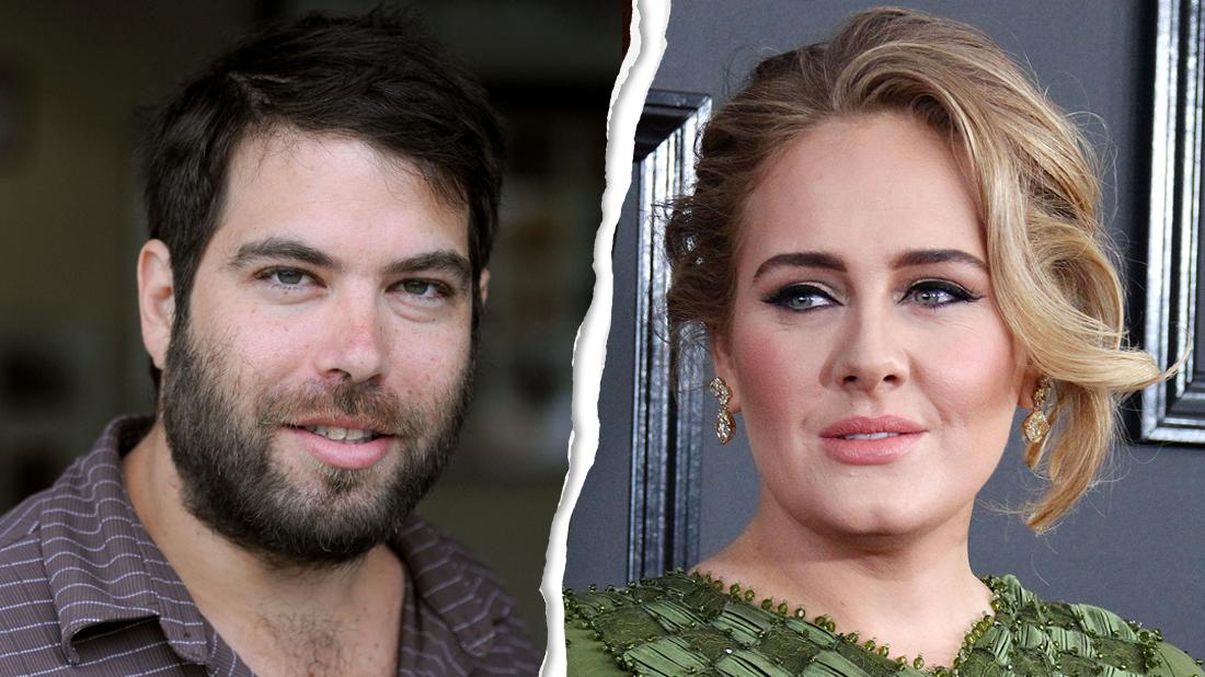 ADELE and Simon Konecki Split With a Rip Tear Down The Middle With Them Looking Serious