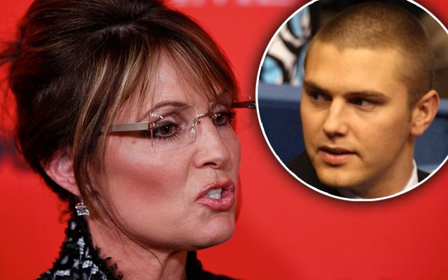 Sarah Palin Son Arrested Track Palin Custody Court