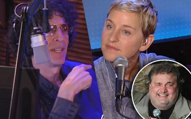 Artie Lange Howard Stern Ellen DeGeneres