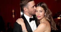 //Justin Timberlake Flirts Jessica Biel Instagram pp