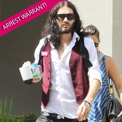 //russell brand arrest warrant ff post