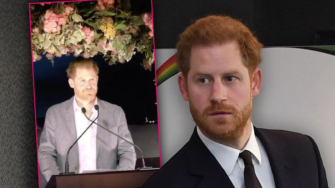 Prince Harry Says He Feels Sadness Leaving Royal Family In Speech
