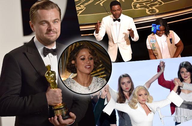 Oscars 2016 Best Worst Shocking Moments