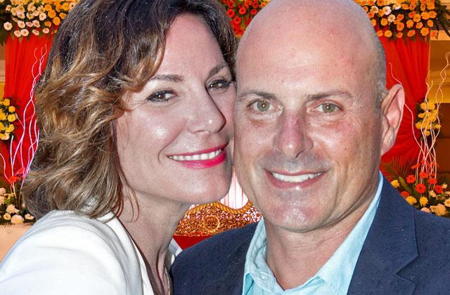 Luann De Lesseps Wedding Tom Dagostino Dress Florida Party Pics