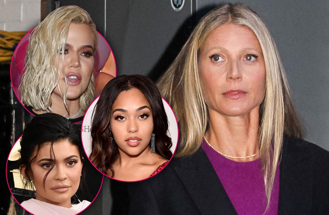 Gwyneth Paltrow Khloe Kardashian Tristan Thompson Cheating Shade