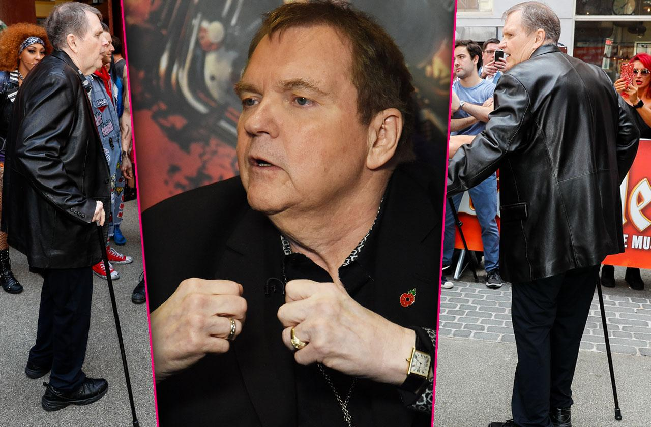 meatloaf stroke fears crippled ailing rocker