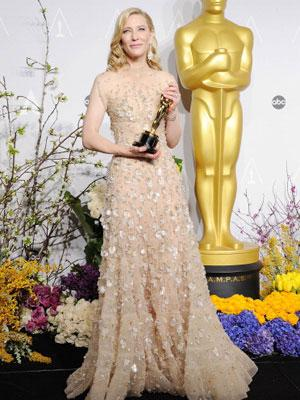 //cate blanchette oscar dress