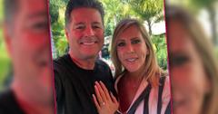 Vicki Gunvalson Wears Cap Celebrating Engagement