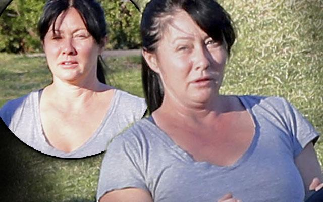 shannen doherty no makeup exercise cancer