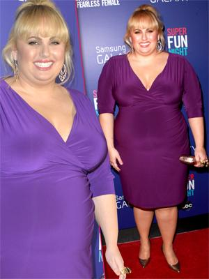 //rebel wilson weight companies sign her tall