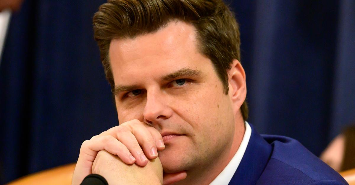 Matt Gaetz Reportedly Probed For Paying Women For Sex