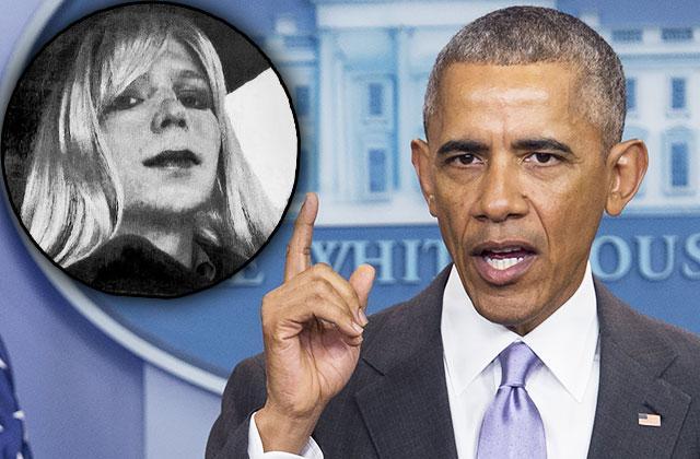 //barack obama commutes chelsea manning prison sentence wikileaks pp