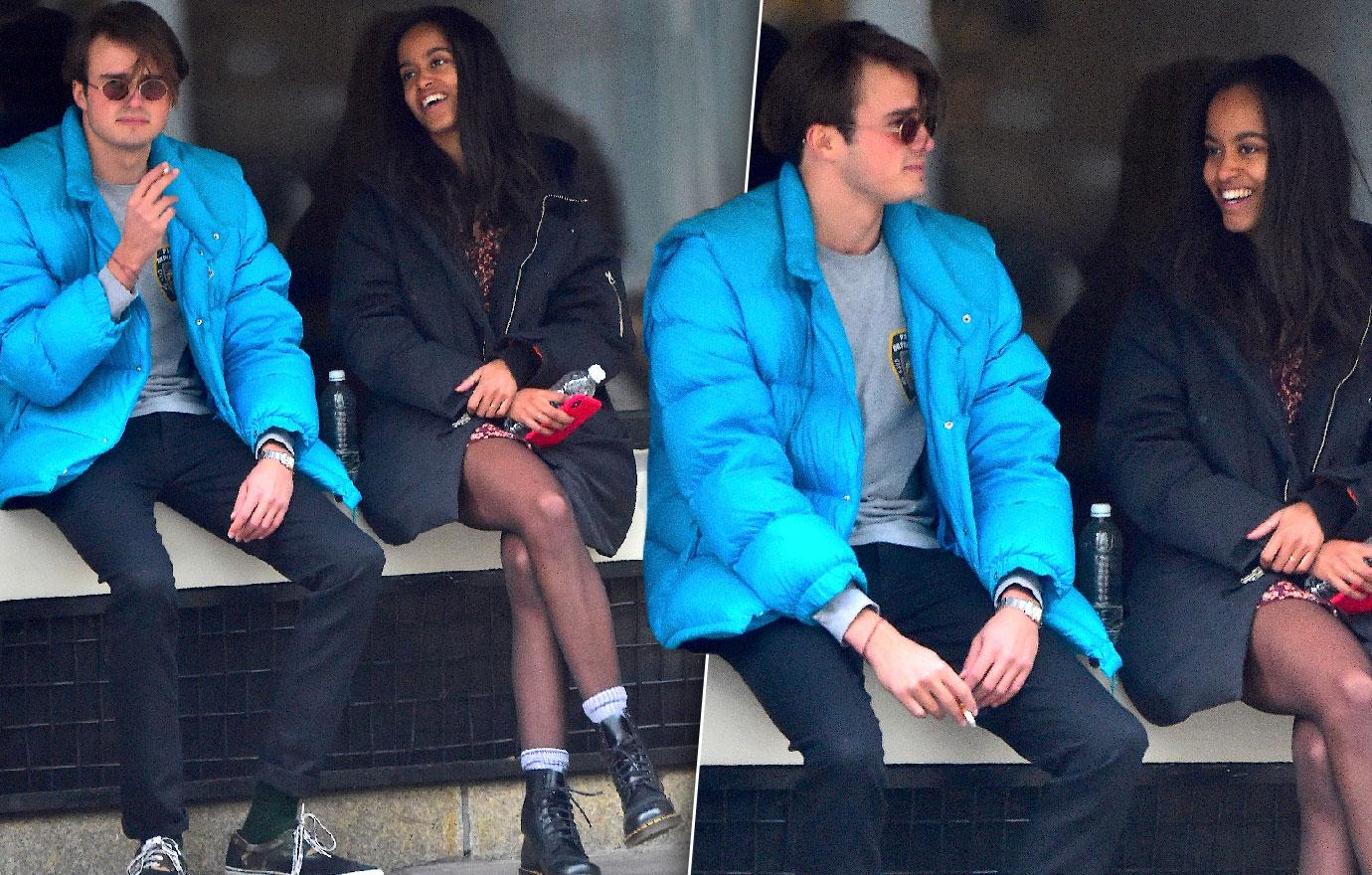 Malia Obama Hangs Out With British Boyfriend