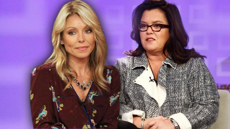 //rosie odonnell kelly ripa sharing space