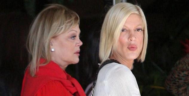 Tori Spelling Can't Confide To Mom Candy Spelling