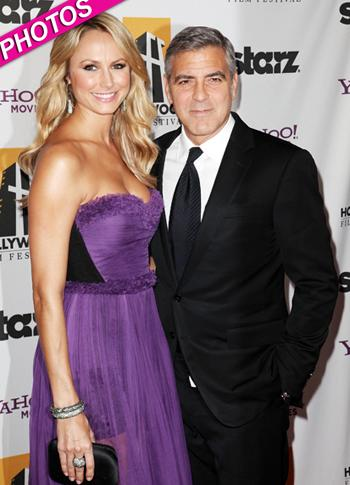 //stacy keibler george clooney film awards gala
