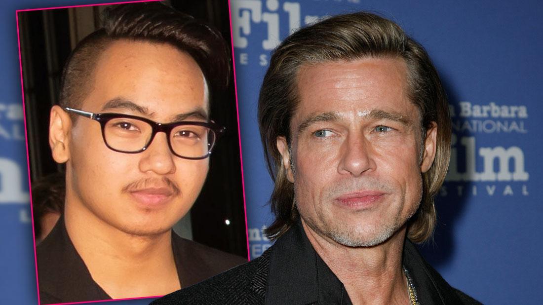 Brad Pitt Skips BAFTAs To Repair Bond With Son Maddox