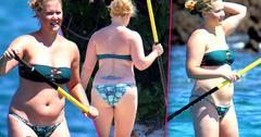 //amy schumer beach bikini pp